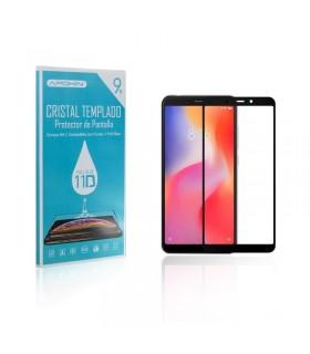 Cristal templado Full Glue 11D Premium Xiaomi Redmi 6 / 6A Protector de Pantalla Curvo Negro