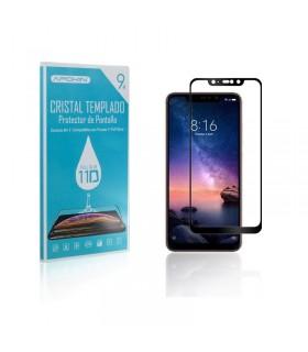 Cristal templado Full Glue 11D Premium Xiaomi Redmi Note 6 Protector de Pantalla Curvo Negro