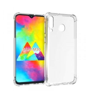 Funda Antigolpe Samsung Galaxy M30 Gel Transparente con esquinas Reforzadas