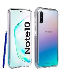 Funda Samsung Galaxy Note 10 Transparente Antigolpe Premium