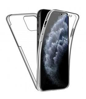 Funda Doble iPhone 11 PRO 5.8  Silicona Transparente Delantera y Trasera
