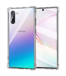 Funda Antigolpe Samsung Galaxy Note 10 Gel Transparente con esquinas Reforzadas