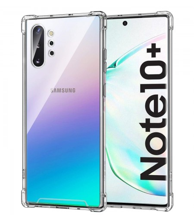 Funda Antigolpe Samsung Galaxy Note 10 Plus Gel Transparente con esquinas Reforzadas