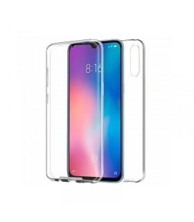 Funda Doble Xiaomi Mi 9 SE  Silicona Transparente Delantera y Trasera