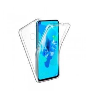 Funda Doble Huawei P20 Lite 2019 Silicona Transparente Delantera y Trasera