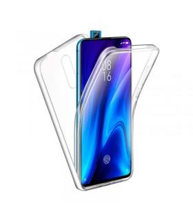 Funda Doble Xiaomi Mi 9 T/K20 Silicona Transparente Delantera y Trasera