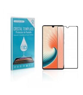 Cristal templado Full Glue 11D Premium Huawei Mate 30 Protector de Pantalla Curvo Negro