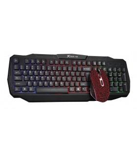 Teclado y Raton Gaming Xtrike-Me KB-501