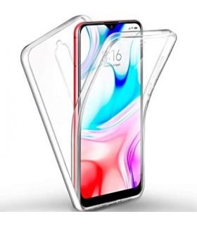 Funda Doble Xiaomi MI9 Lite Silicona Transparente Delantera y Trasera