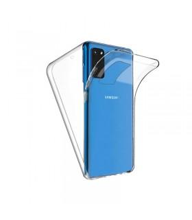 Funda Doble Samsung Galaxy S11E/S20E Silicona Transparente Delantera y Trasera