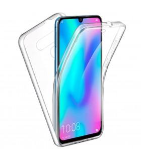 Funda Doble LG K40/K12 Plus Silicona Transparente Delantera y Trasera