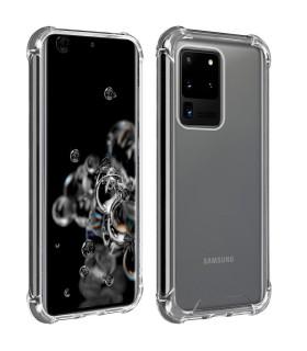 Funda Antigolpe Samsung Galaxy S20 Ultra Gel Transparente con esquinas Reforzadas