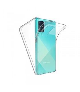 Funda Doble Samsung Galaxy A51 / M40S Silicona Transparente Delantera y Trasera