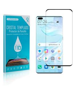 Cristal templado Full Glue 11D Premium Huawei P40 Protector de Pantalla Curvo Negro