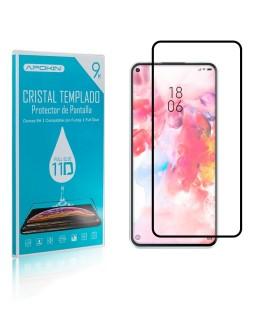Cristal templado Full Glue 11D Premium Xiaomi Mi 10 Lite Protector de Pantalla Curvo Negro