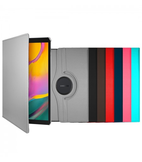 "Funda Tablet Rotativa Samsung Tab A 10.1"" T580 6 Colores"