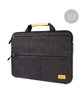 "Bolsa Tela Bwoo CB23 con 3 Cremalleras para Portatil-Tablet 13.3"" 3 Colores"