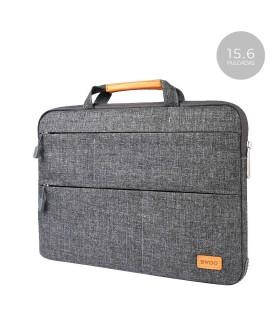"Bolsa Tela Bwoo CB25 con 3 Cremalleras para Portatil-Tablet 15.6"" 3 Colores"