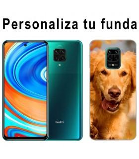Personaliza tu Funda [Xiaomi Redmi Note 9 Pro] de Silicona Flexible Transparente Carcasa Case Cover de Gel TPU para Smartphone