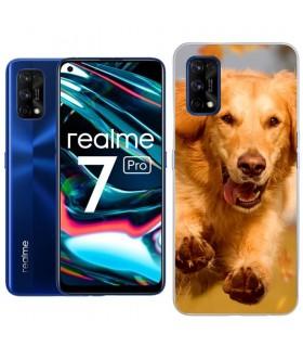 Personaliza tu Funda [Realme 7 Pro] de Silicona Flexible Transparente Carcasa Case Cover de Gel TPU para Smartphone