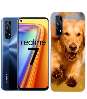 Personaliza tu Funda [Realme 7] de Silicona Flexible Transparente Carcasa Case Cover de Gel TPU para Smartphone