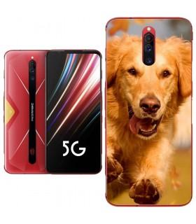 Personaliza tu Funda [Nubia Red Magic 5G] de Silicona Flexible Transparente Carcasa Case Cover de Gel TPU para Smartphone