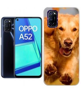 Personaliza tu Funda [OPPO A52] de Silicona Flexible Transparente Carcasa Case Cover de Gel TPU para Smartphone