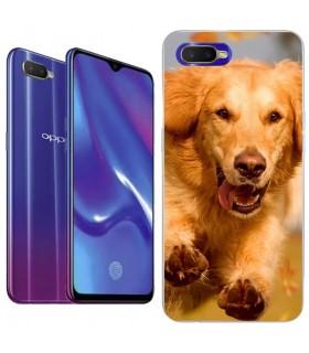 Personaliza tu Funda [OPPO RX17 Neo] de Silicona Flexible Transparente Carcasa Case Cover de Gel TPU para Smartphone