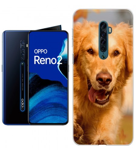 Personaliza tu Funda [OPPO Reno 2] de Silicona Flexible Transparente Carcasa Case Cover de Gel TPU para Smartphone