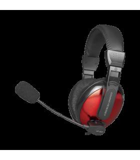 Auriculares Gaming Xtrike Me HP-307 con micrófono omnidireccional.