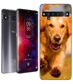 Personaliza tu Funda [TCL 10 Pro] de Silicona Flexible Transparente Carcasa Case Cover de Gel TPU para Smartphone