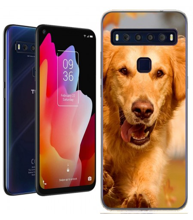 Personaliza tu Funda [TCL 10L] de Silicona Flexible Transparente Carcasa Case Cover de Gel TPU para Smartphone