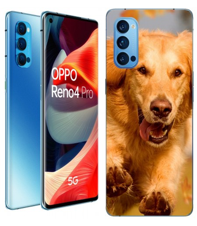 Personaliza tu Funda [OPPO Reno 4 Pro 5G] de Silicona Flexible Transparente Carcasa Case Cover de Gel TPU para Smartphone