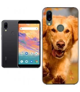 Personaliza tu Funda [Umidigi A3S] de Silicona Flexible Transparente Carcasa Case Cover de Gel TPU para Smartphone