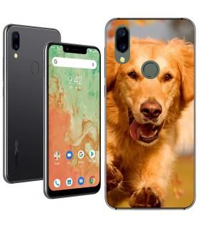 Personaliza tu Funda [Umidigi A3X] de Silicona Flexible Transparente Carcasa Case Cover de Gel TPU para Smartphone