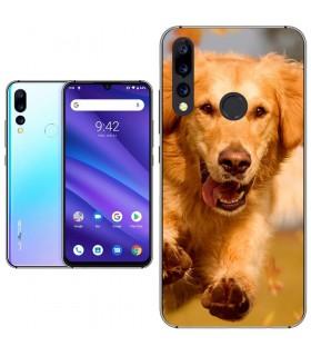 Personaliza tu Funda [Umidigi A5 Pro] de Silicona Flexible Transparente Carcasa Case Cover de Gel TPU para Smartphone