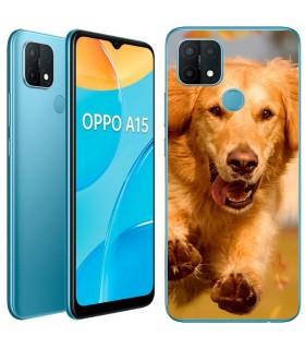 Personaliza tu Funda [OPPO A15] de Silicona Flexible Transparente Carcasa Case Cover de Gel TPU para Smartphone