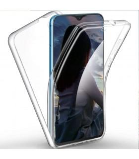 Funda 360 [Samsung Galaxy A10S] PC + TPU Carcasa Doble Cara 360 de Silicona Delantera + Trasera Rigido Reforzada Transparente