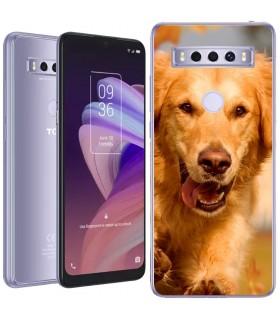Personaliza tu Funda [TCL 10 SE] de Silicona Flexible Transparente Carcasa Case Cover de Gel TPU para Smartphone
