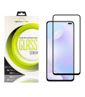 Cristal templado Full Glue 11D Premium Samsung Galaxy A42 5G Protector de Pantalla Curvo Negro