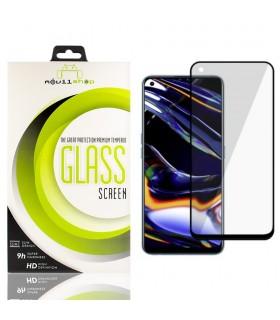 Cristal templado Full Glue 11D Premium Realme 7 Pro Protector de Pantalla Curvo Negro