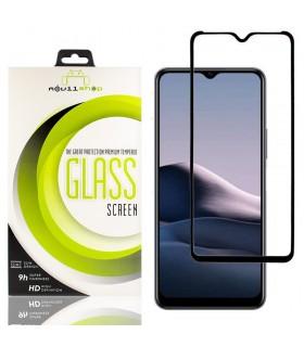 Cristal templado Full Glue 11D Premium Vivo Y11s Protector de Pantalla Curvo Negro