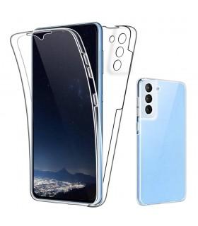 Funda 360 [Samsung Galaxy S21 Plus] PC + TPU Carcasa Doble Cara 360 de Silicona Delantera + Trasera Rigido Reforzada