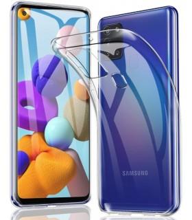 Funda Silicona Samsung Galaxy A21S Transparente Ultrafina
