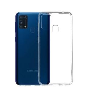 Funda Silicona Samsung Galaxy M30 Transparente Ultrafina