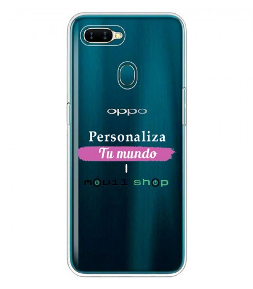Personaliza tu Funda [OPPO AX7] de Silicona Flexible Transparente Carcasa Case Cover de Gel TPU para Smartphone