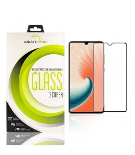 Cristal templado Full Glue 11D Premium Huawei Mate 20 Protector de Pantalla Curvo Negro
