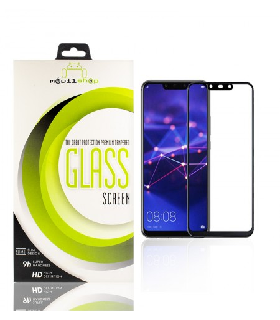 Cristal templado Full Glue 11D Premium Huawei Mate 20 Lite Protector de Pantalla Curvo Negro