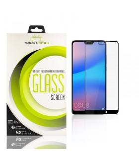 Cristal templado Full Glue 11D Premium Huawei P20 Protector de Pantalla Curvo Negro