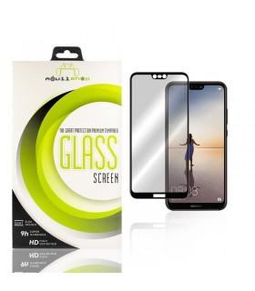 Cristal templado Full Glue 11D Premium Huawei P20 Lite Protector de Pantalla Curvo Negro